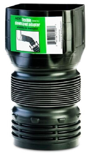 Amerimax pack quot flexible downspout adapter