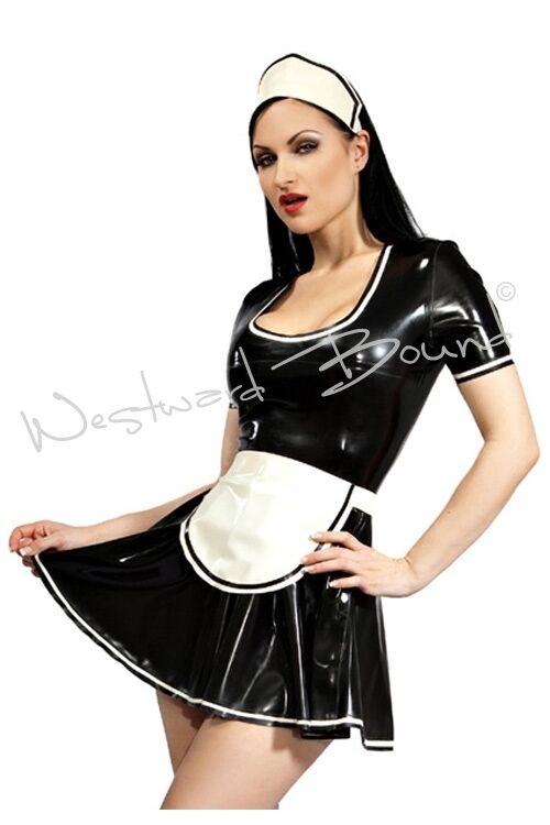 Latex Maid Uniform 52