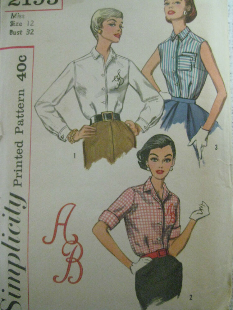 Awesome Vintage Simplicity Sewing Pattern 9484 Women39s Skirt