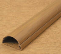 D-Line Wood Effect 16x8mm Cable Trunking for hiding thin speaker wires 75cm