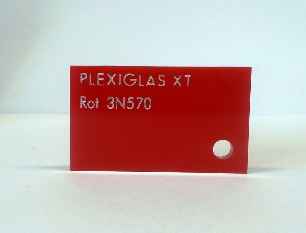 plexiglas acryl zuschnitt rot xt 3 mm ebay. Black Bedroom Furniture Sets. Home Design Ideas