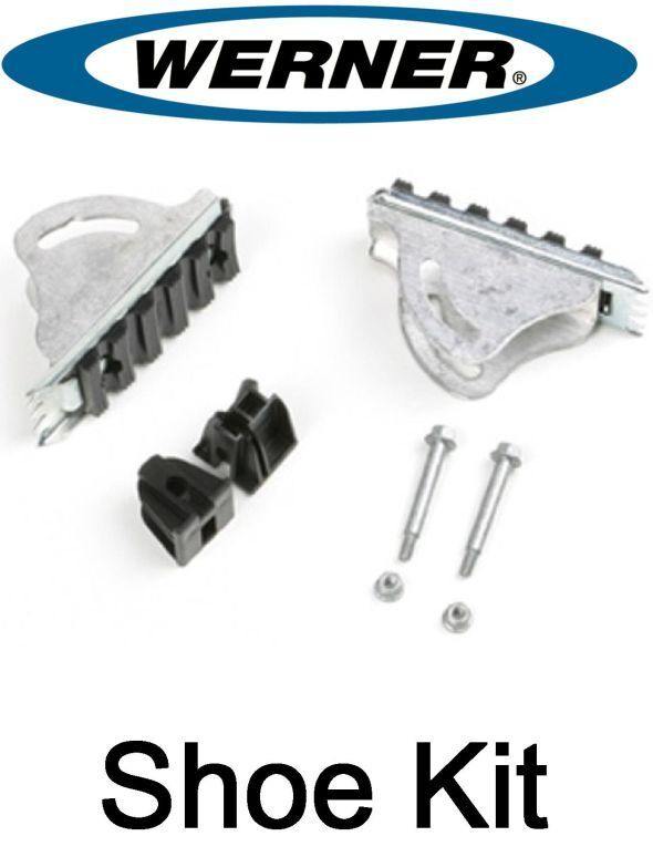 Werner 26 3 Replacement Shoe Feet Kit Aluminum
