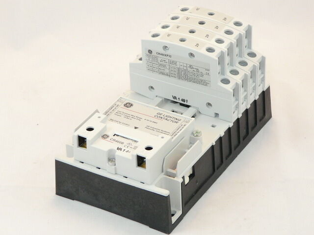 new ge cr460b 8 pole electrically held lighting contactor. Black Bedroom Furniture Sets. Home Design Ideas
