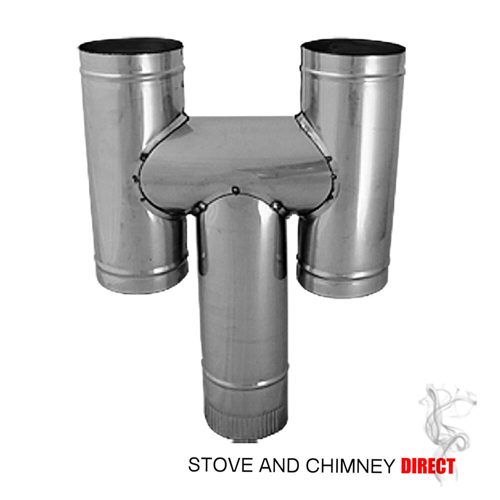 H Cowl Flexible Chimney Pot 6 Inch Stainless Ebay