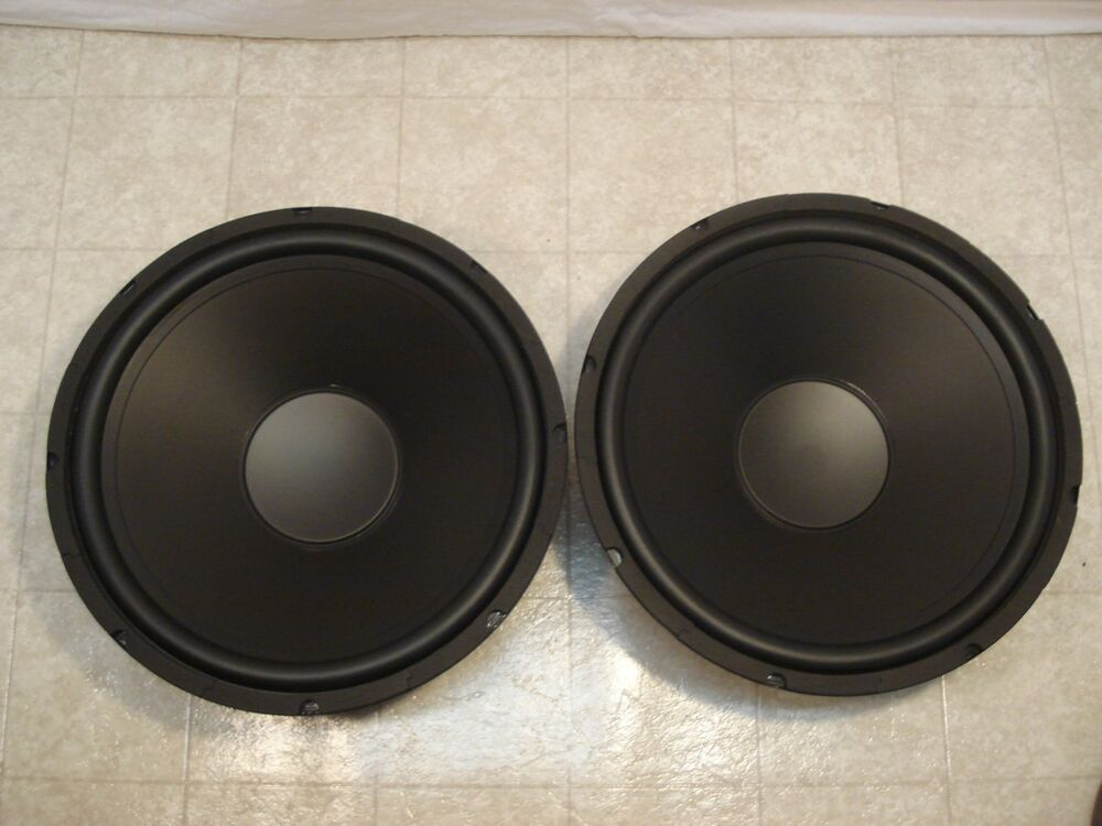 new 15 subwoofers replacement speakers 8 ohm woofers pair. Black Bedroom Furniture Sets. Home Design Ideas