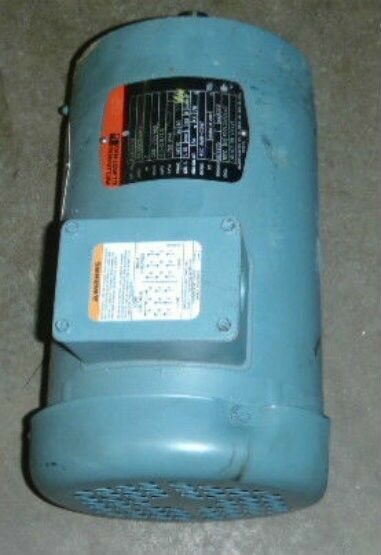 Reliance electric motor p14g9258 2hp ip44 60 hz for Class b electric motor