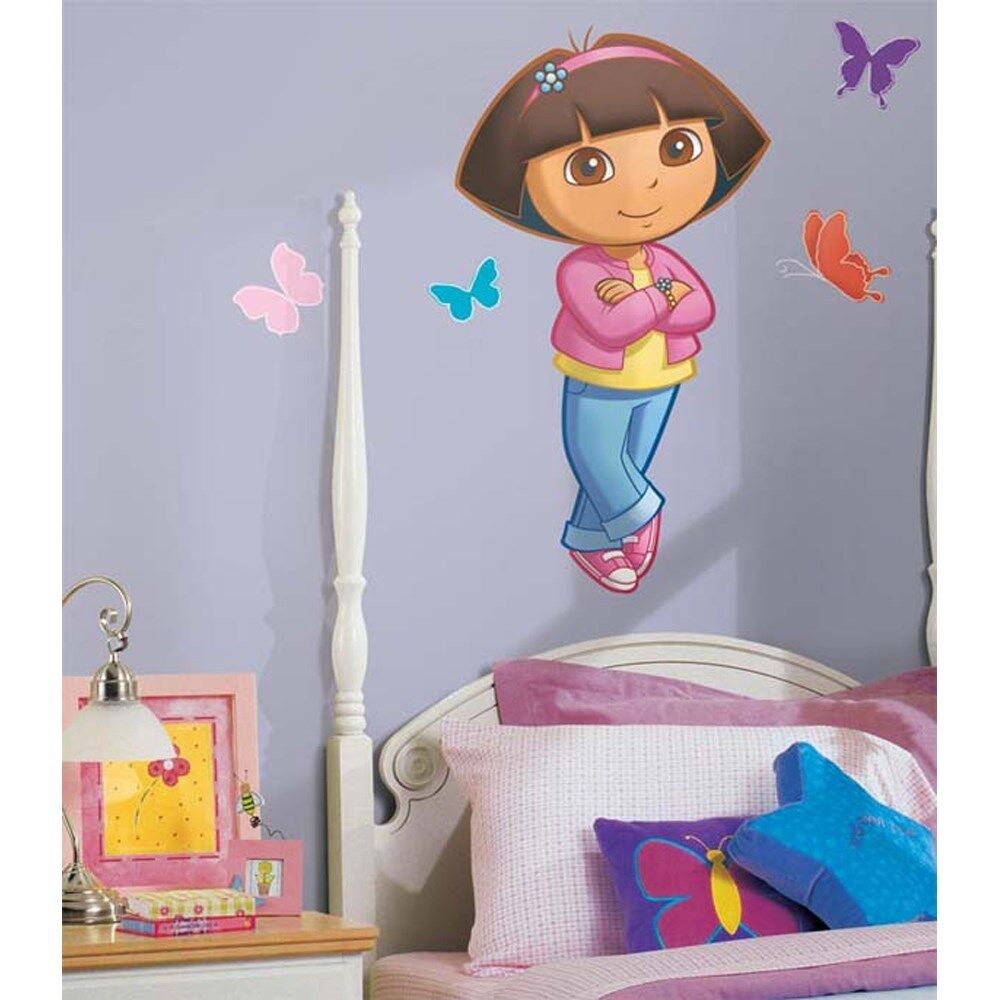 dora the explorer wall decal mural girls big new bedroom stickers
