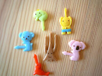 Pack of 12 Bento Lunch Box Food Picks - Animals and Folklore