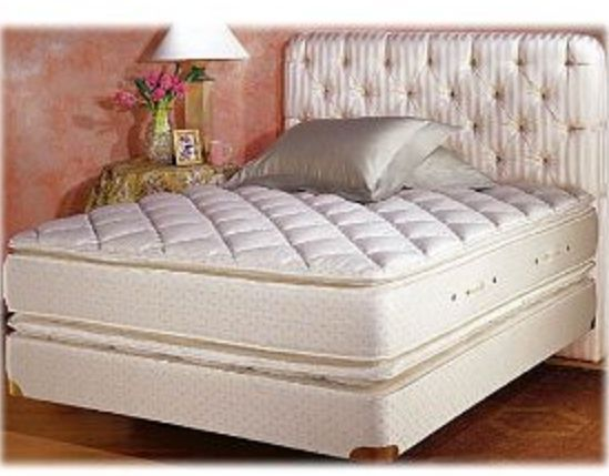 New QUEEN size Double PillowTop mattress and box set