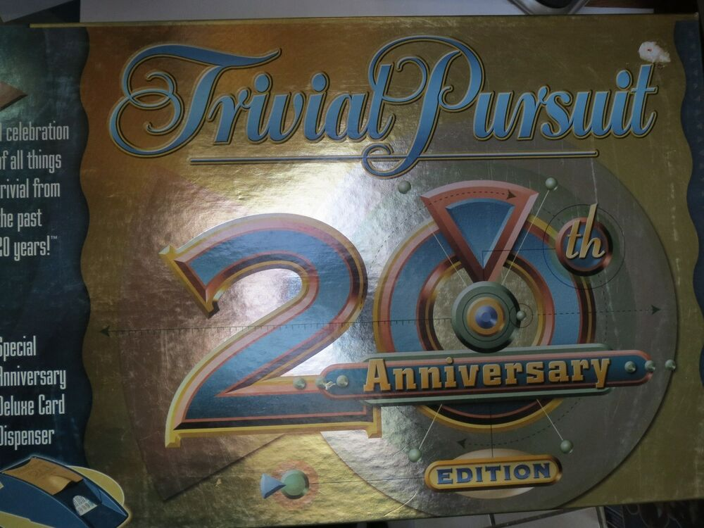 how to play trivial pursuit 20th anniversary