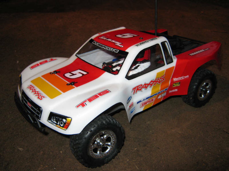 TRAXXAS 1/16 SLASH BODY MINI SHORT COURSE TRUCK EREVO