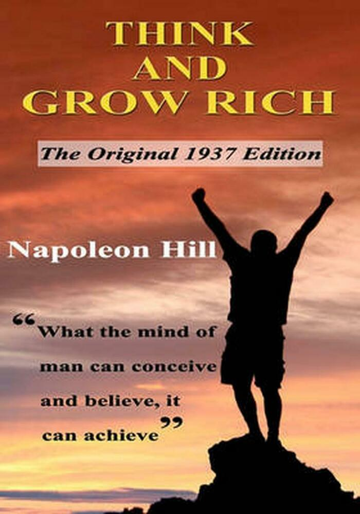 Rich Napoleon Hill Beard King Guys Follow For Daily: Think And Grow Rich By Napoleon Hill Paperback Book