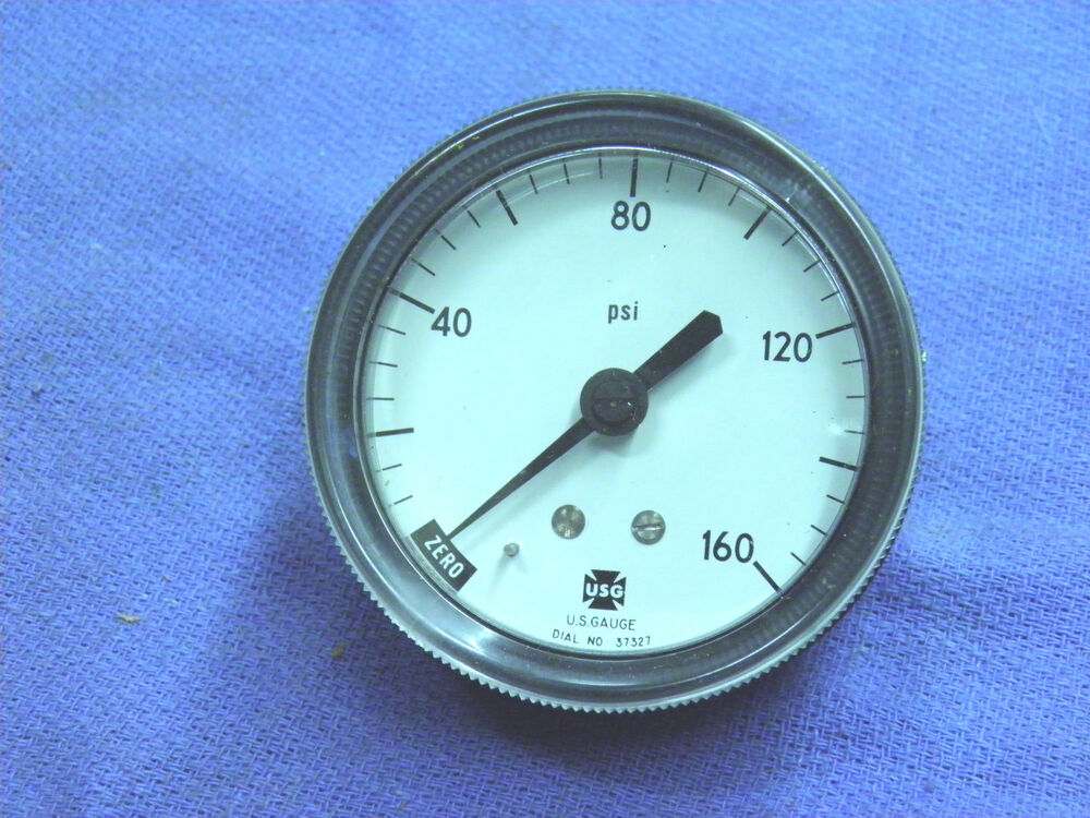 "Gauge, Pressure gauge, 0-160 PSI. US Gauge, NEW, 1/8"" NPT ..."