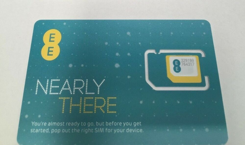 NEW PAY AS YOU GO EE NETWORK TRIPLE SIM CARD FOR IPHONE 5 ...