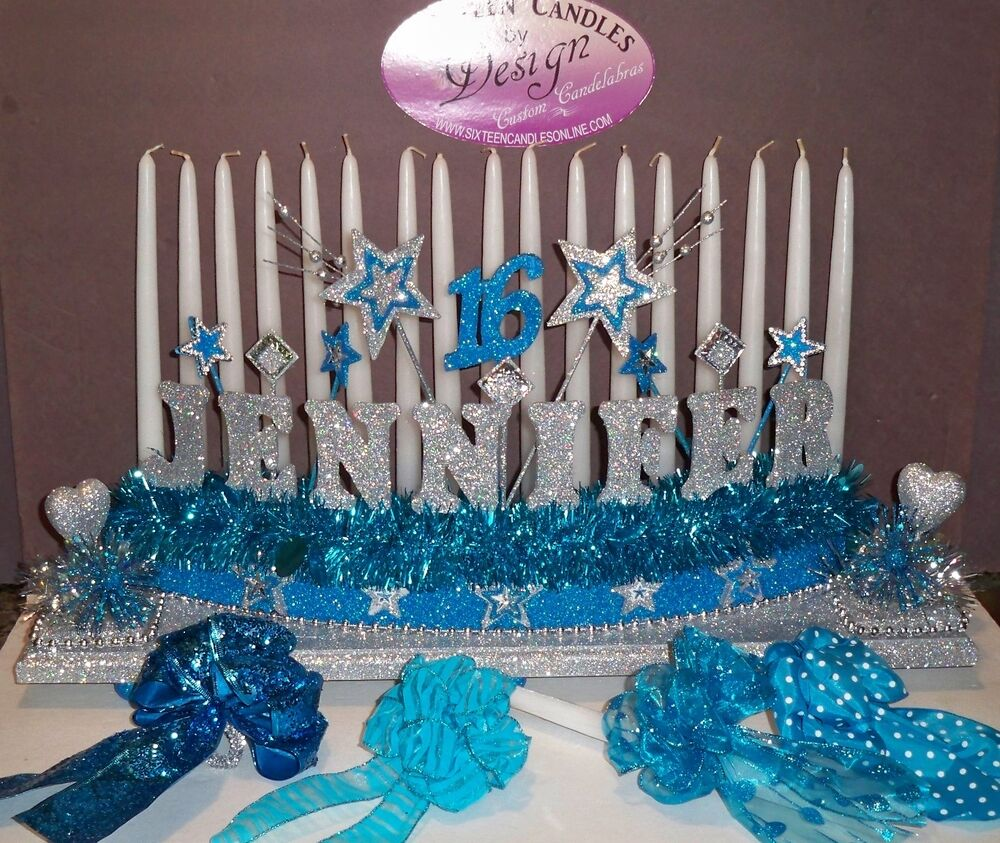 sweet 16 candelabra candle holder lighting ceremony ebay