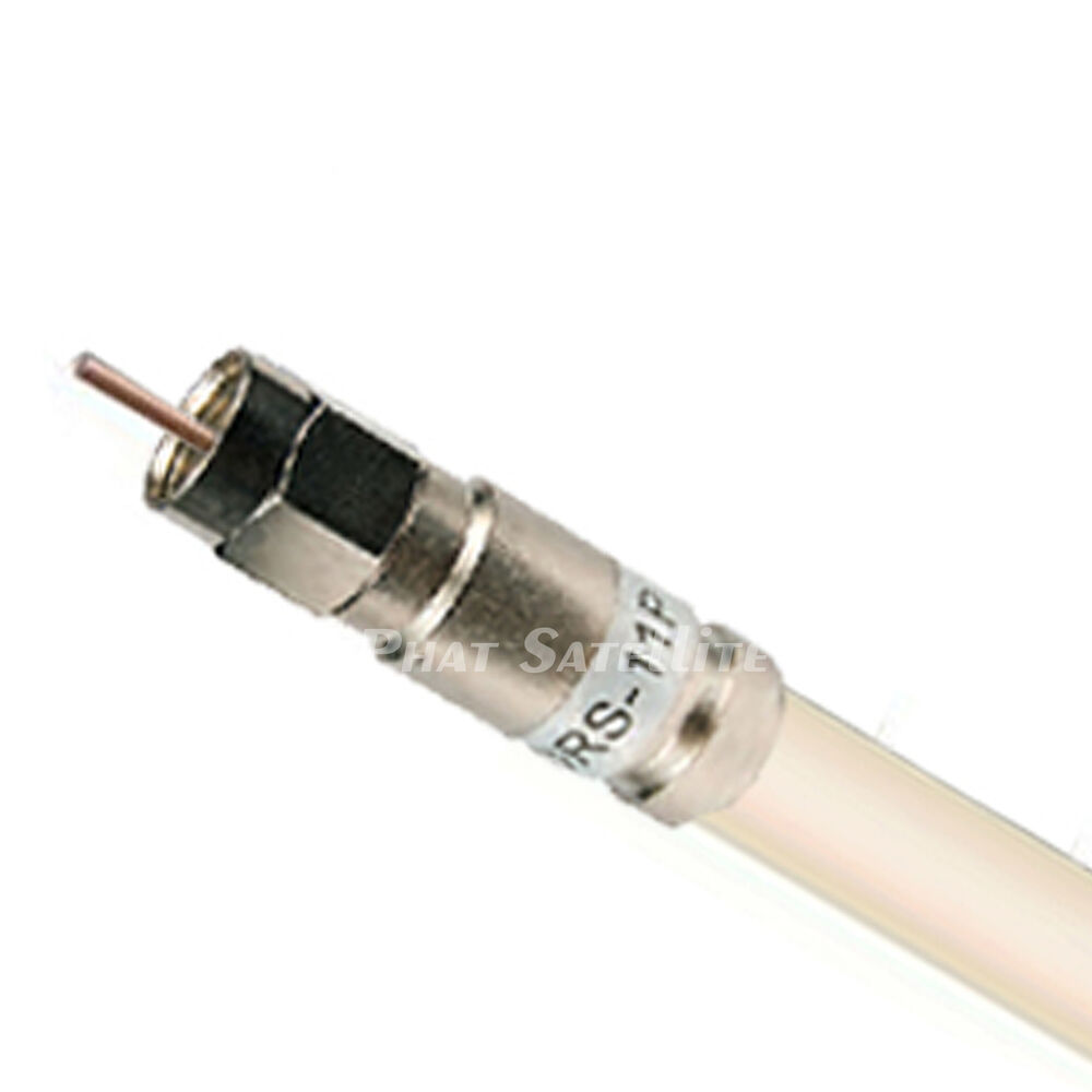Coaxial Cable Connectors : Commscope v plenum cmr rg catv coaxial cable ft