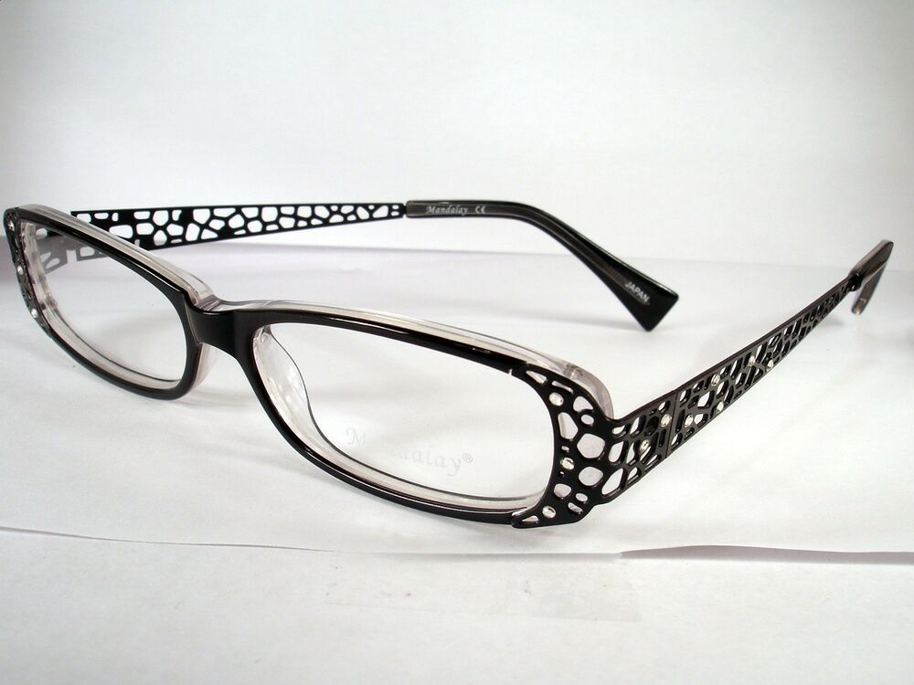 Eyeglass Frame New : MANDALAY 7043 BLACK WOMEN NEW eyewear Eyeglass Frame eBay