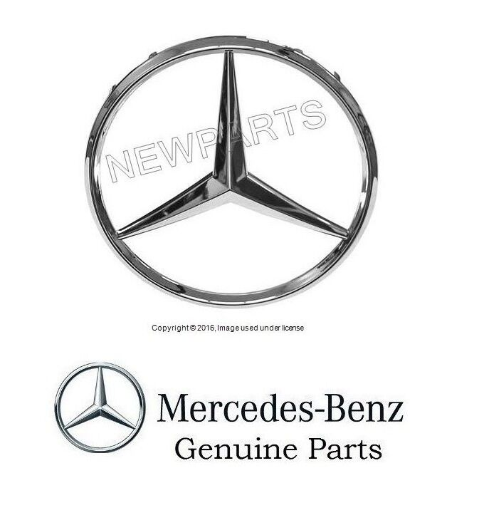 New mercedes w163 ml class big center star emblem in for Mercedes benz star logo