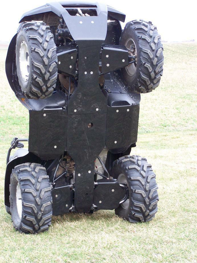 Kawasaki Brute Force 750 650 Floorboard Front To Rear Center Skid Plates Hdpe Ebay