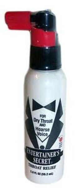 Entertainers Throat Spray 96