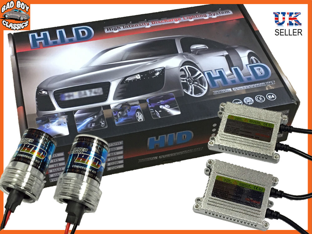 H7 Xenon Hid Headlight Conversion Kit 6000k For Bmw Ebay