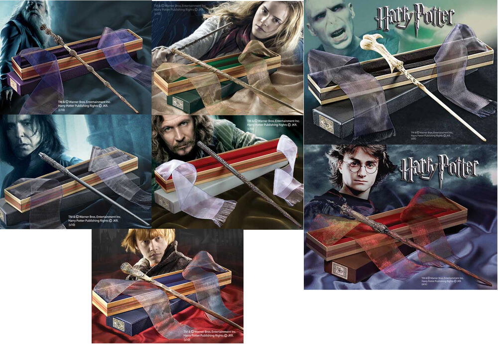 Dumbledore hermione voldemort neville snape ron wand for Dumbledore s wand with ollivanders box