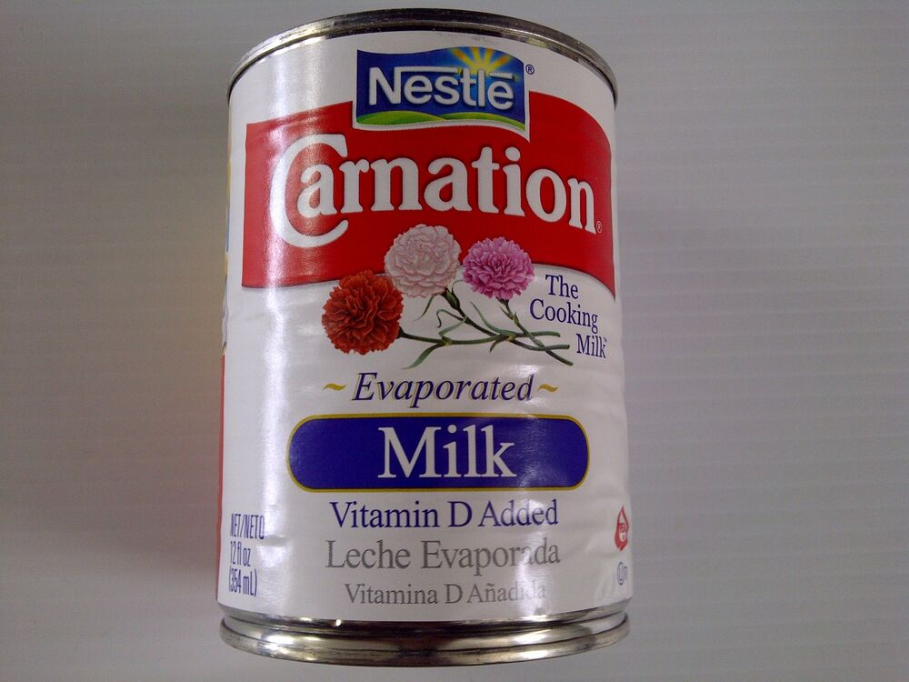 Nestle Carnation Evaporated Milk, 8 Cans/12 Oz Free ...