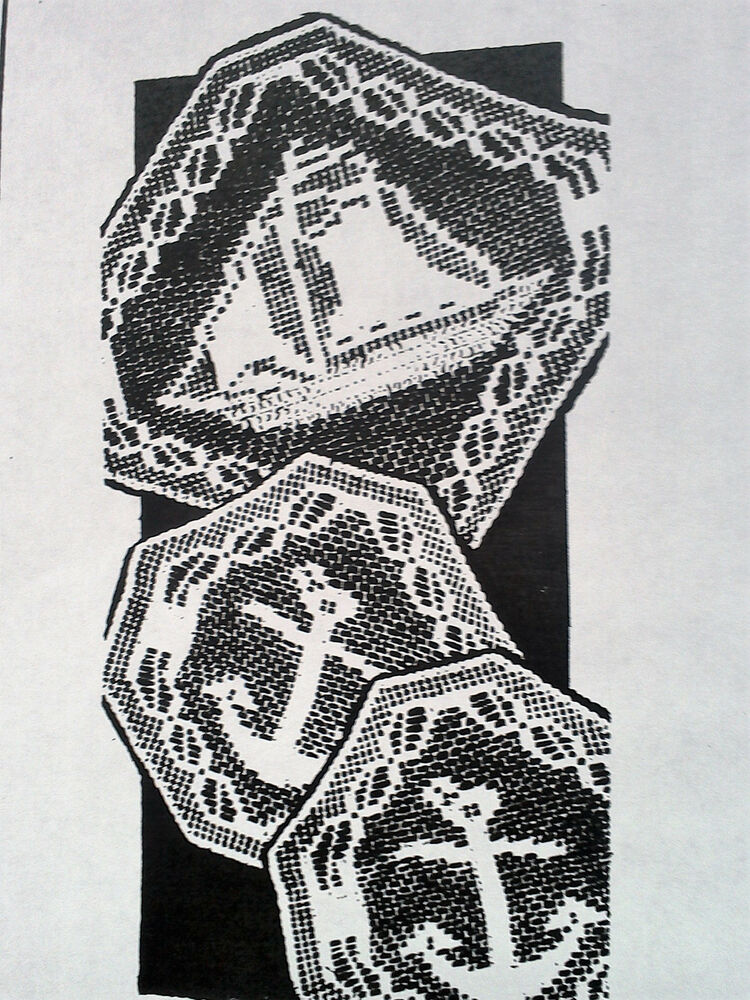 486 Vintage Filet Boat  U0026 Anchor Chair Set Pattern To Crochet  Reproduction