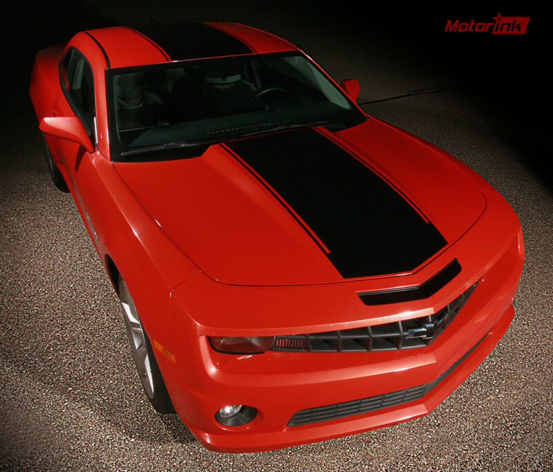 2010 2011 2012 2013 Chevy Camaro Solid Rally Racing Stripe