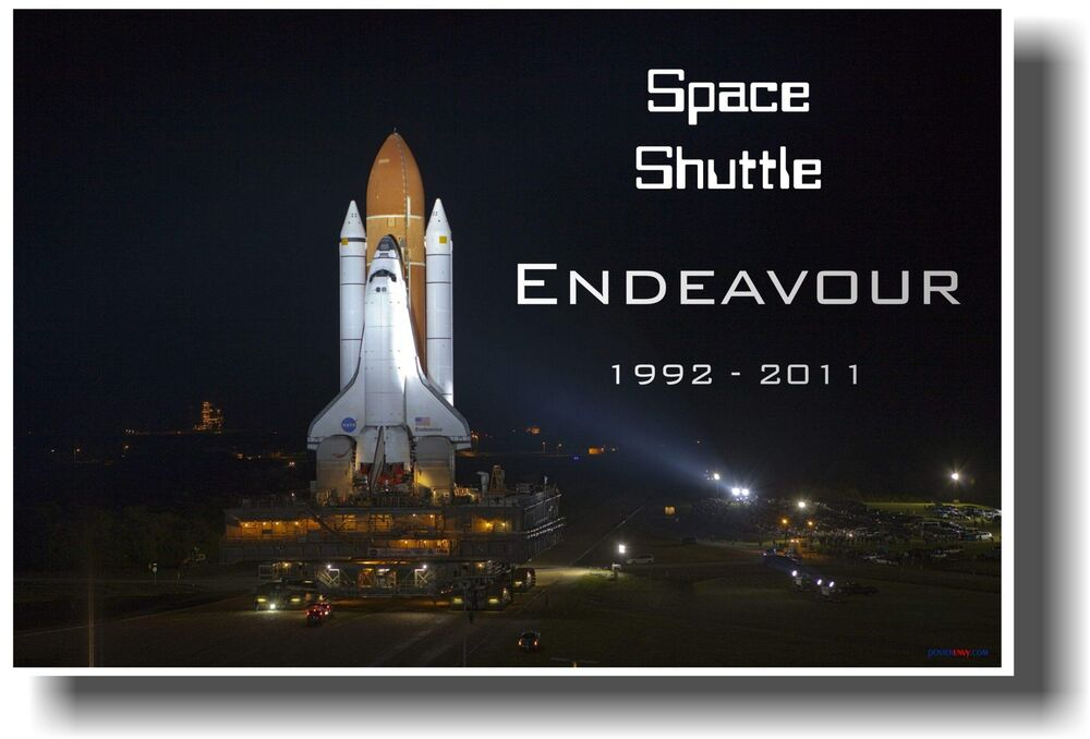 NASA Space Shuttle Endeavour - 1992 - 2011 - NEW SCIENCE ...