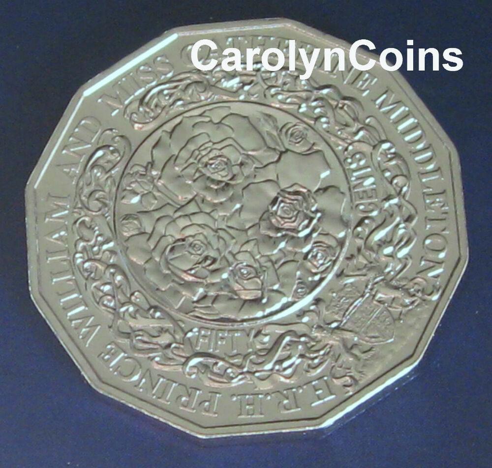 50 Cent Coin 2010 Royal Engagement William Amp Catherine