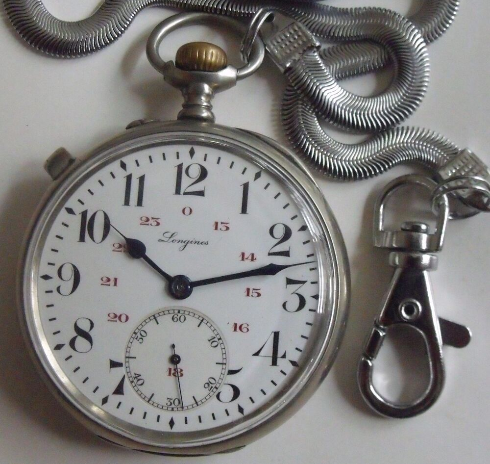 Very Rare-omega-swiss Pocket Watch Jewelry & Watches