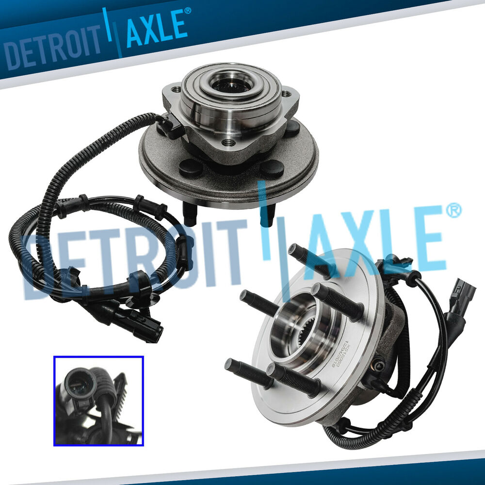 2 front wheel bearing hub 2002 2003 2004 2005 ford. Black Bedroom Furniture Sets. Home Design Ideas
