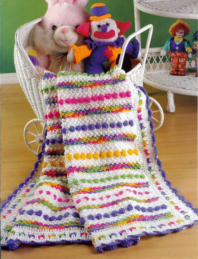 Zebra Afghan Knitting Pattern : Cotton candy zebra flair afghan patterns crochet
