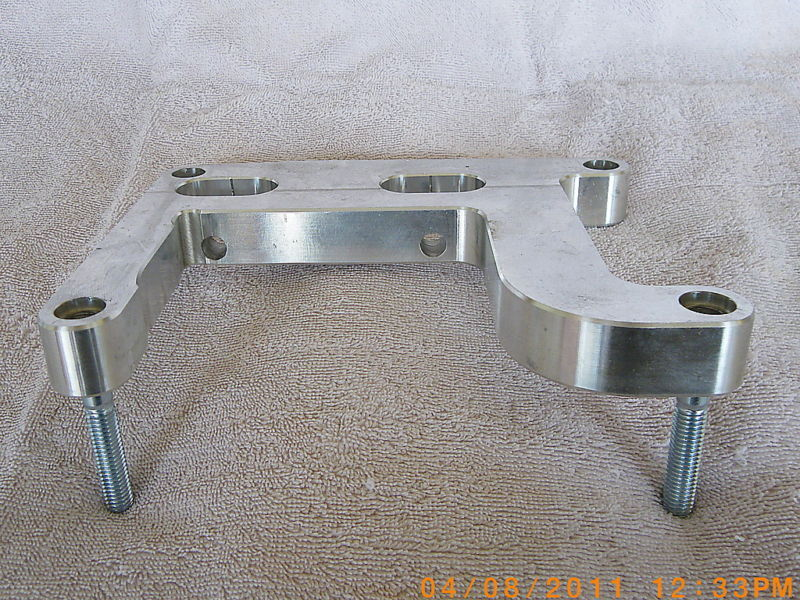 harley twin cam motor mount adapter twin cam into evo ebay. Black Bedroom Furniture Sets. Home Design Ideas
