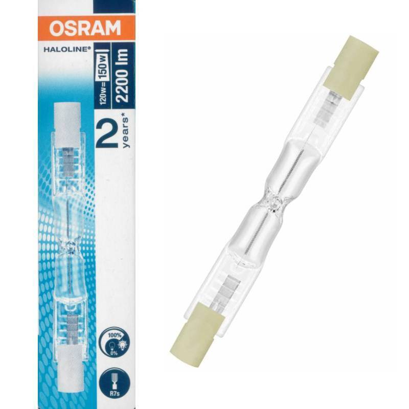 Osram haloline pro 64695 r7s 230v 120w 2200lm halogen for Led r7s 78mm osram