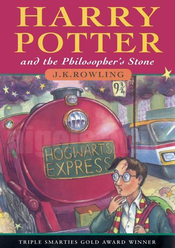 Harry Potter Book Poster : Harry potter and the philosophers stone a book poster ebay