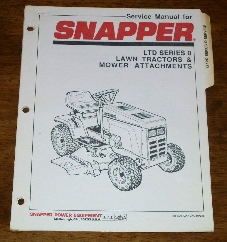 Snapper Ltd Series 0 Lawn Tractor Amp Mower Attachments