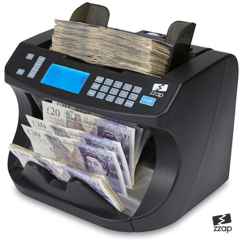 Bank Note Currency Counter Count Fake Detector Money