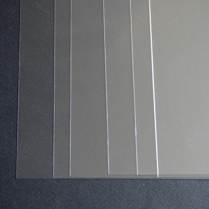10 x a4 stencil sheets thin clear pvc 220 micron craft for Plastic grid sheets crafts