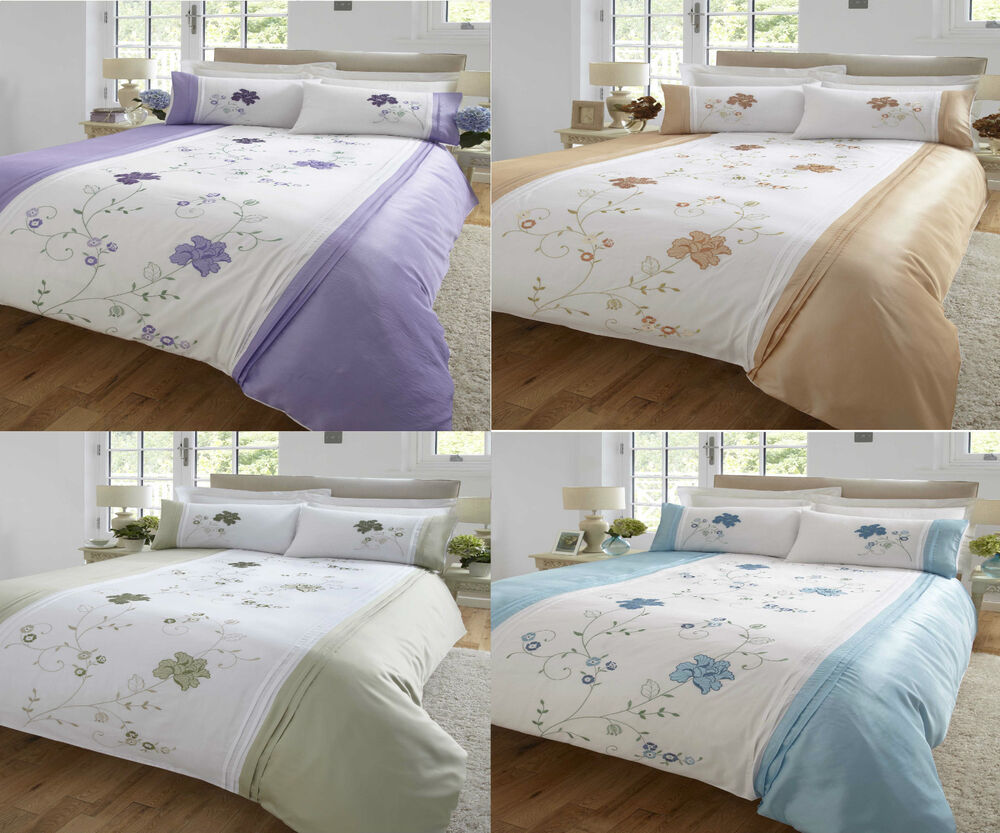 New Valetta Designer Duvet Quilt Cover Bedding Range In