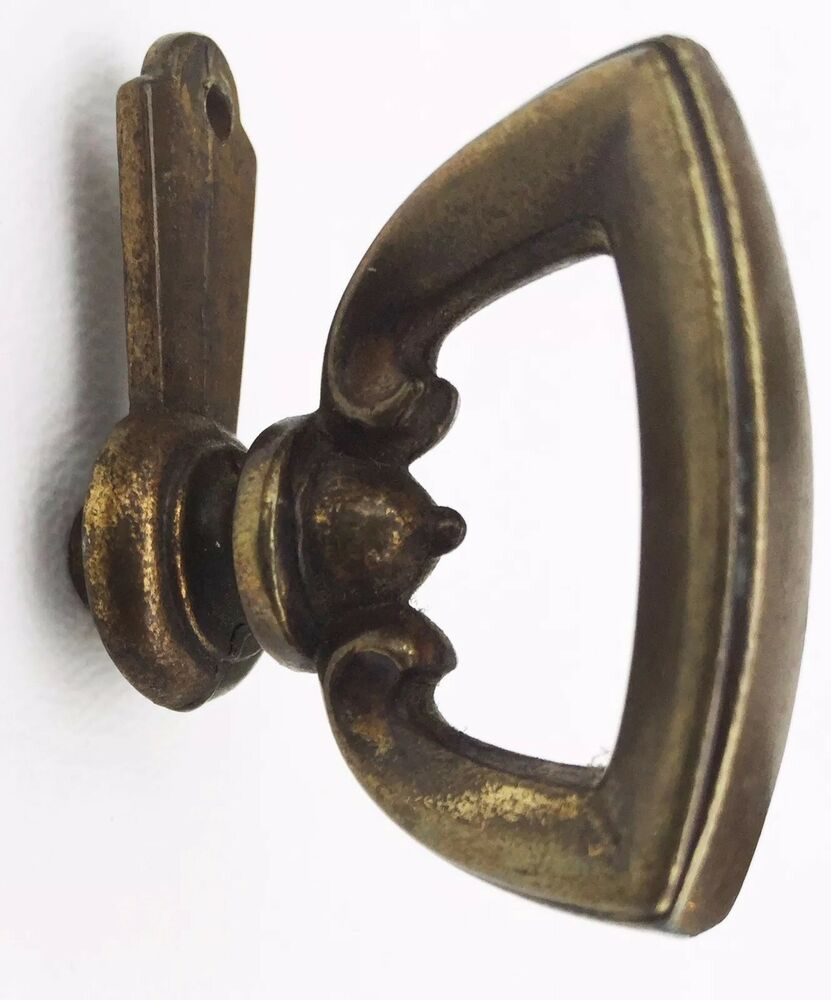 Duncan Phyfe Antique Hardware Brass Drawer Pull Cabinet