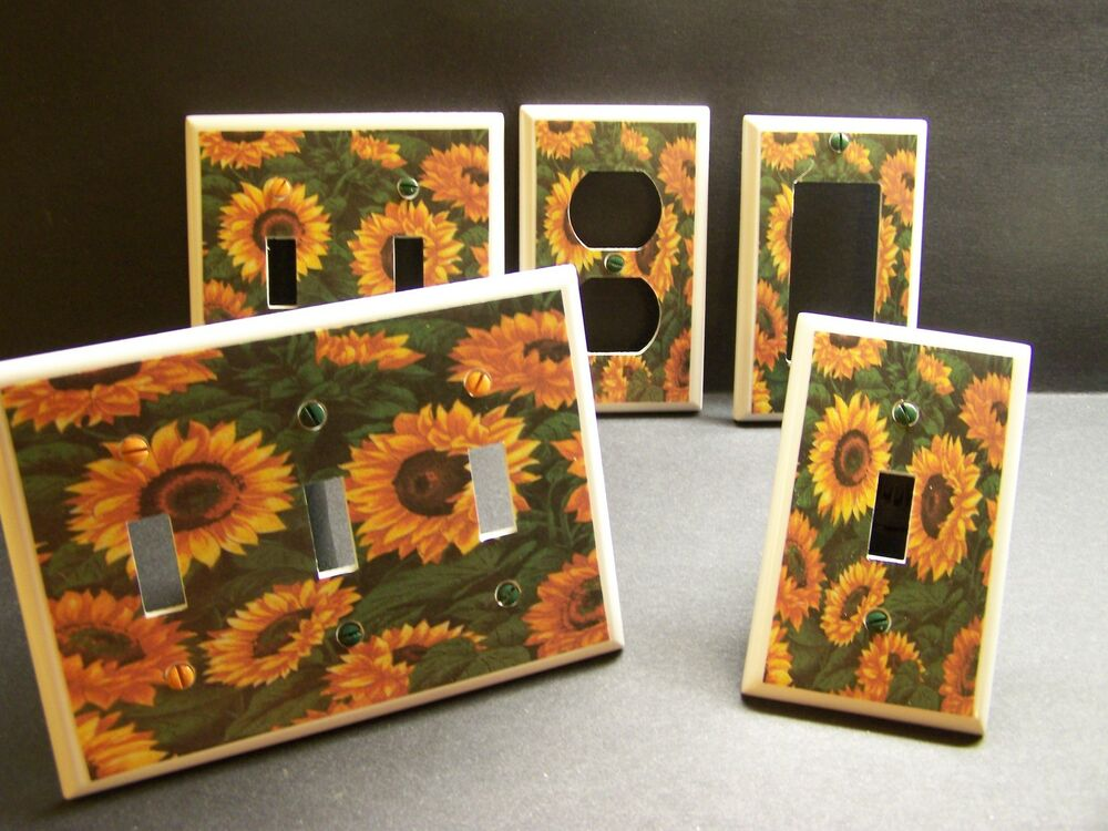 Sunflower Sunflowers Kitchen Home Decor Light Switch Or Home Decorators Catalog Best Ideas of Home Decor and Design [homedecoratorscatalog.us]