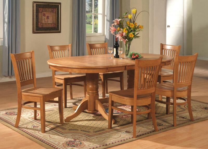 9 PC VANCOUVER OVAL DINETTE KITCHEN DINING ROOM SET TABLE  : s l1000 from www.ebay.com size 800 x 574 jpeg 101kB