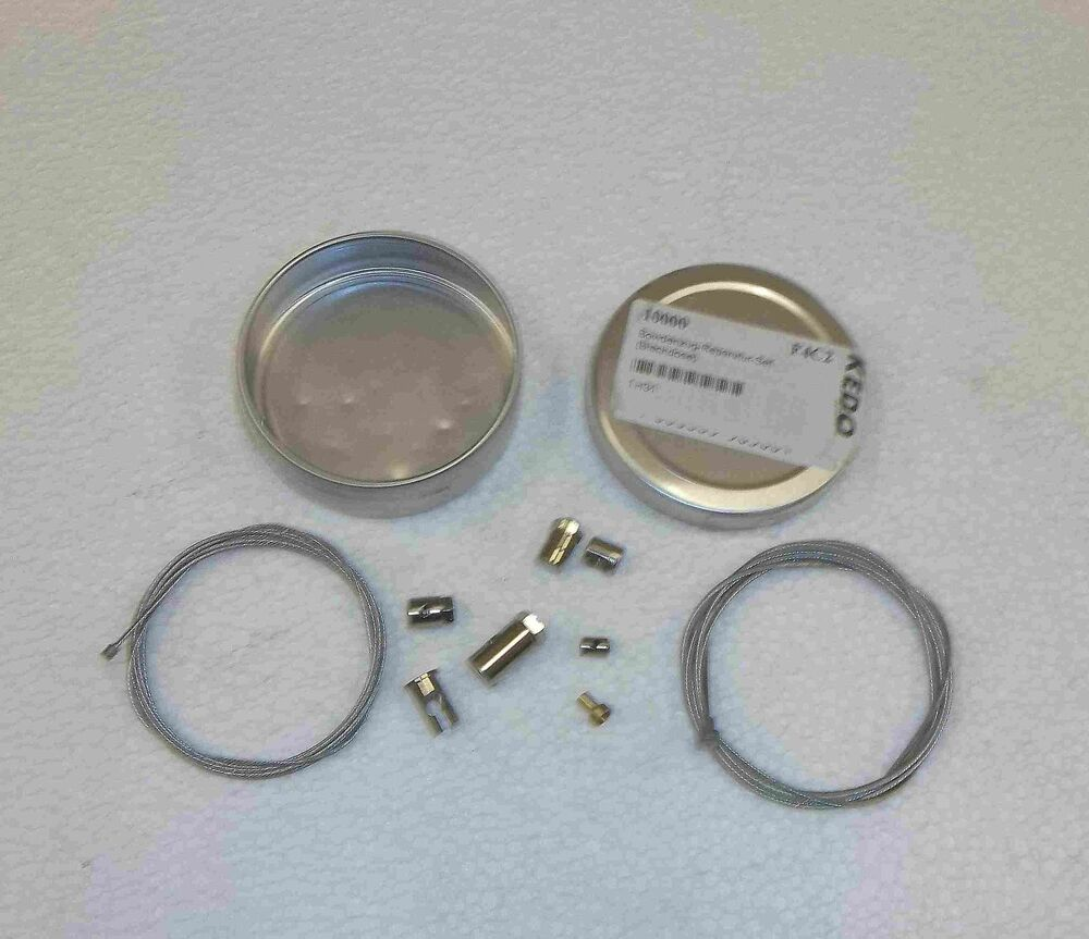 Universal Throttle Cable Kit : Universal control cable repair kit throttle choke decomp