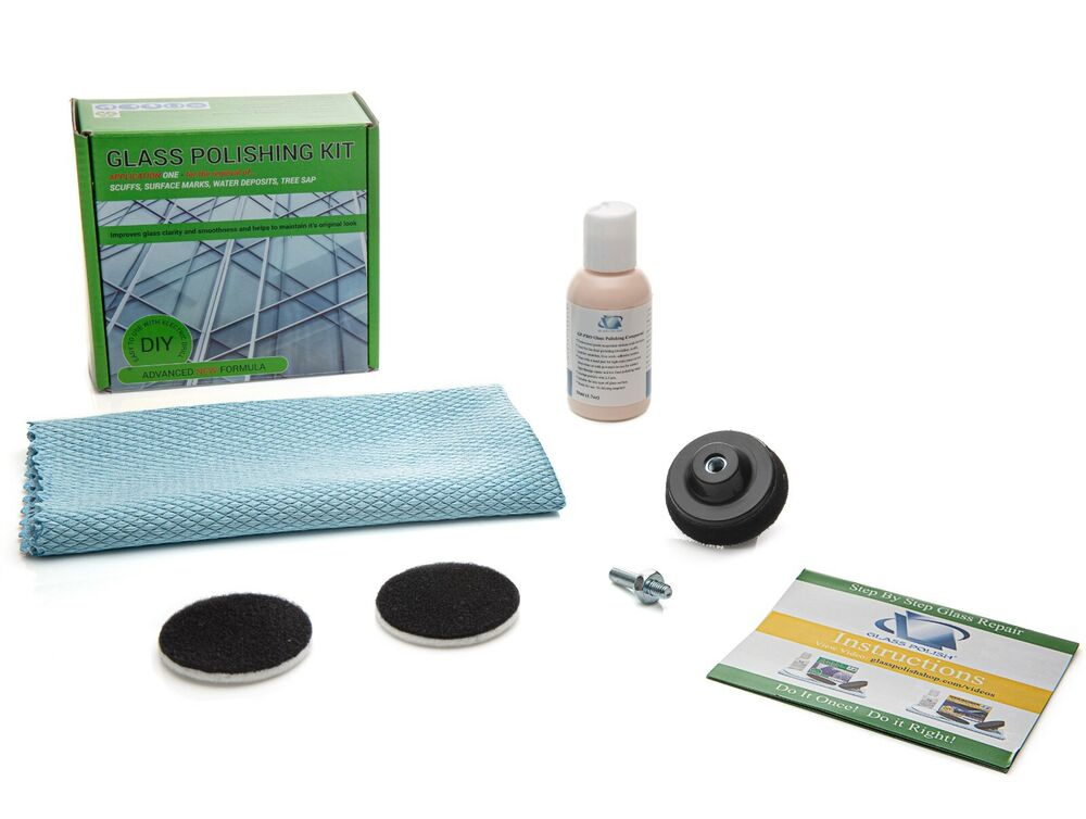 glass polishing kit water stain remover glass scratch remover 2 39 39 50mm ebay. Black Bedroom Furniture Sets. Home Design Ideas