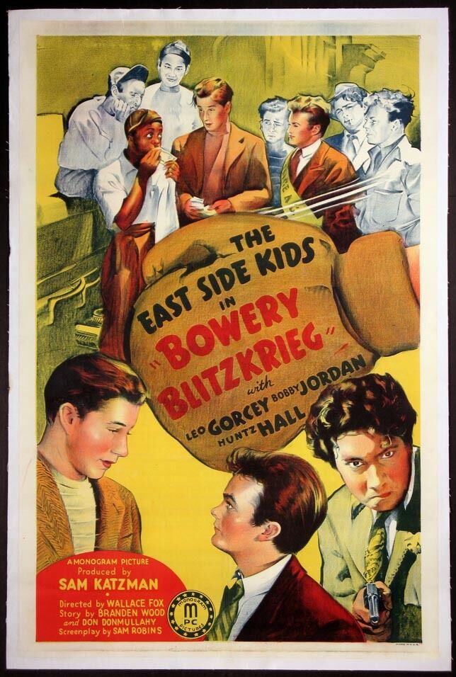 BOWERY BLITZKRIEG LEO GORCEY EAST SIDE KIDS BOXING ENTRY ...