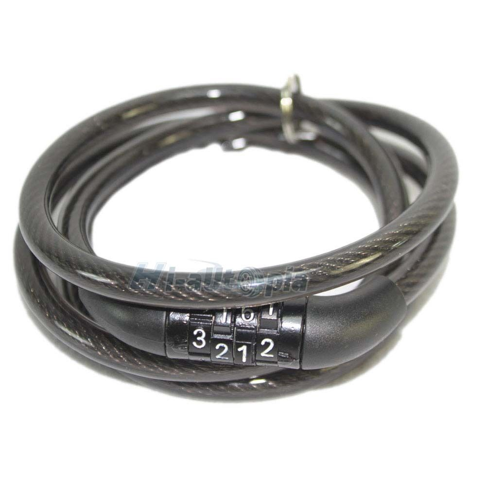 4 Digit Combination Bike Bicycle Cycling Security Cable