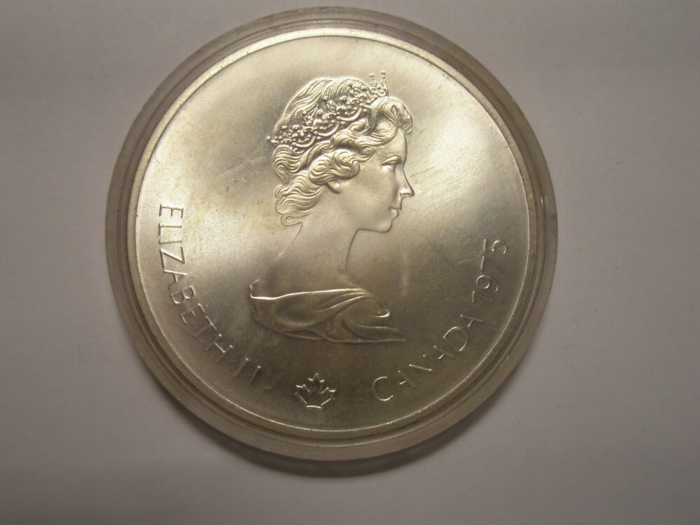 10 Canadian Olympic Silver Coin Bu Proof Asw 1 4454 Ebay