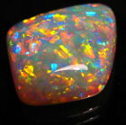 10.4ct dble sided Andamooka Gem investment diamond qlty solid opal pendant stone